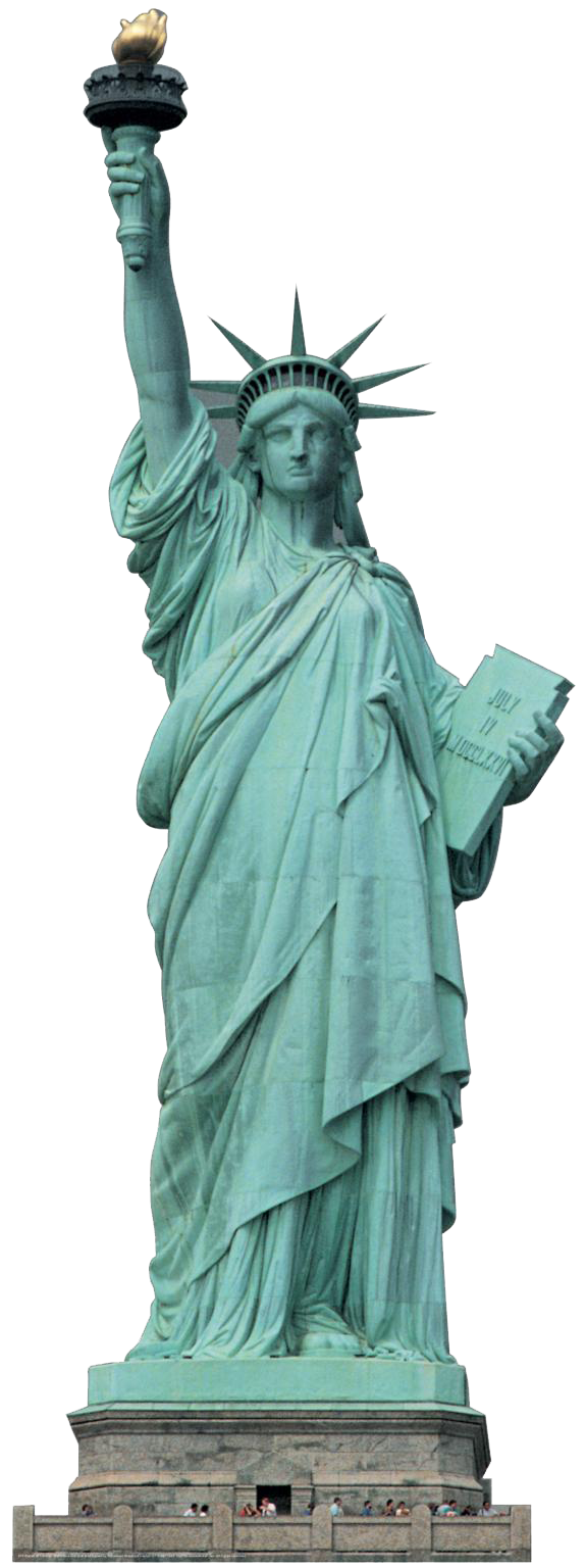 Statue Of Liberty PNG Transparent Images.