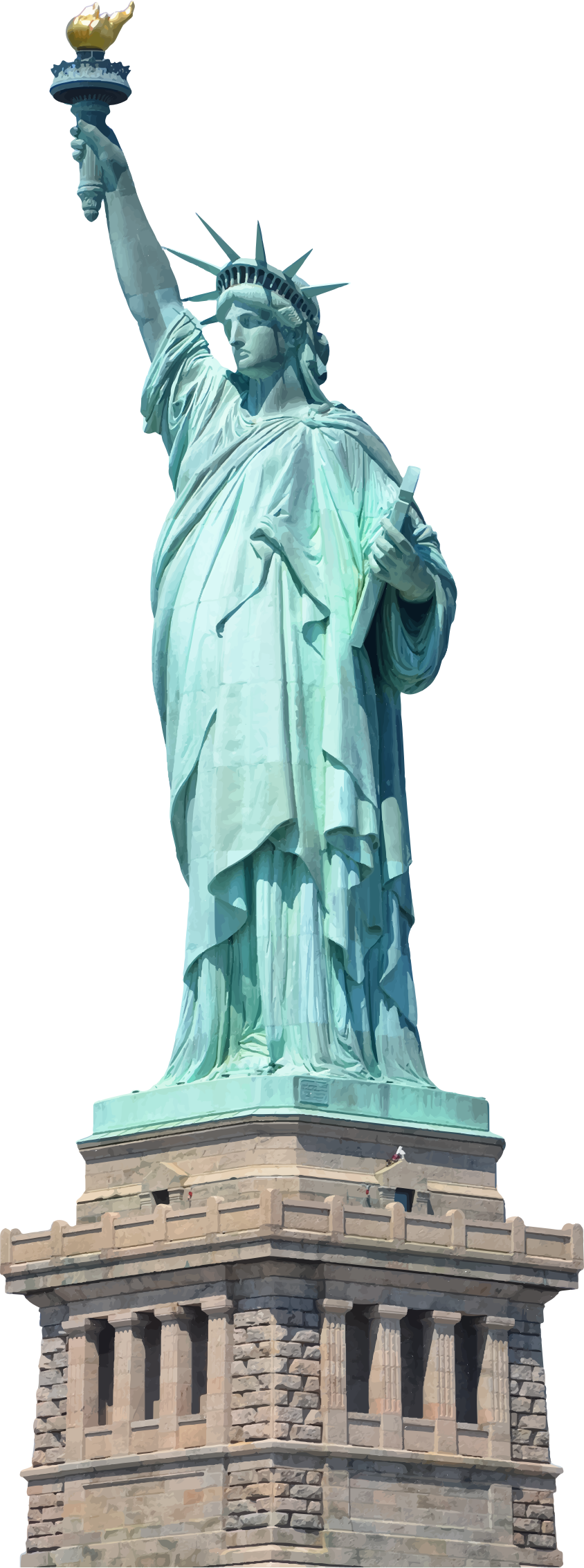 Statue Of Liberty PNG Images Transparent Free Download.