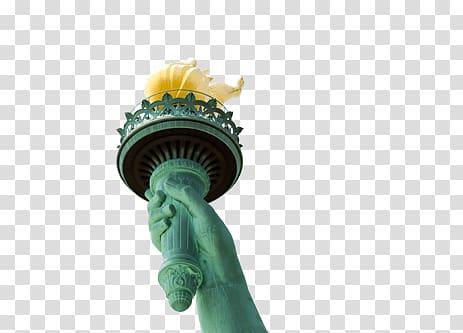 Statue of Liberty Torch , Liberty Flame transparent.
