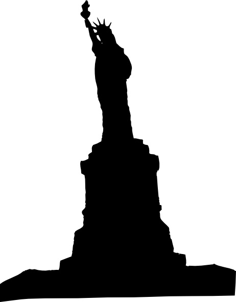 Statue Of Liberty clip art Free vector in Open office.