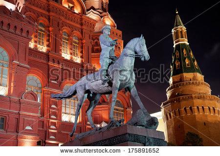 Statue of marshall zhukov clipart #7