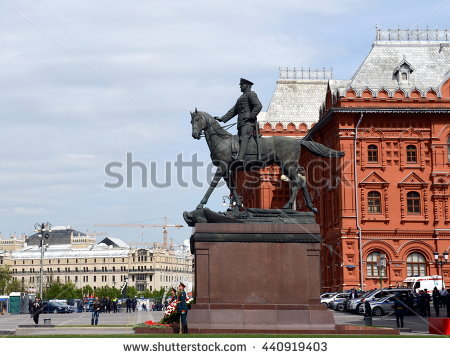 Georgy Zhukov Stock Images, Royalty.