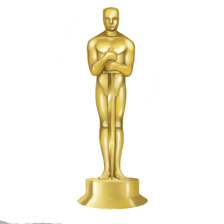 Oscar Statue Clipart.