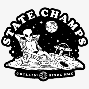Statechamps Sticker.
