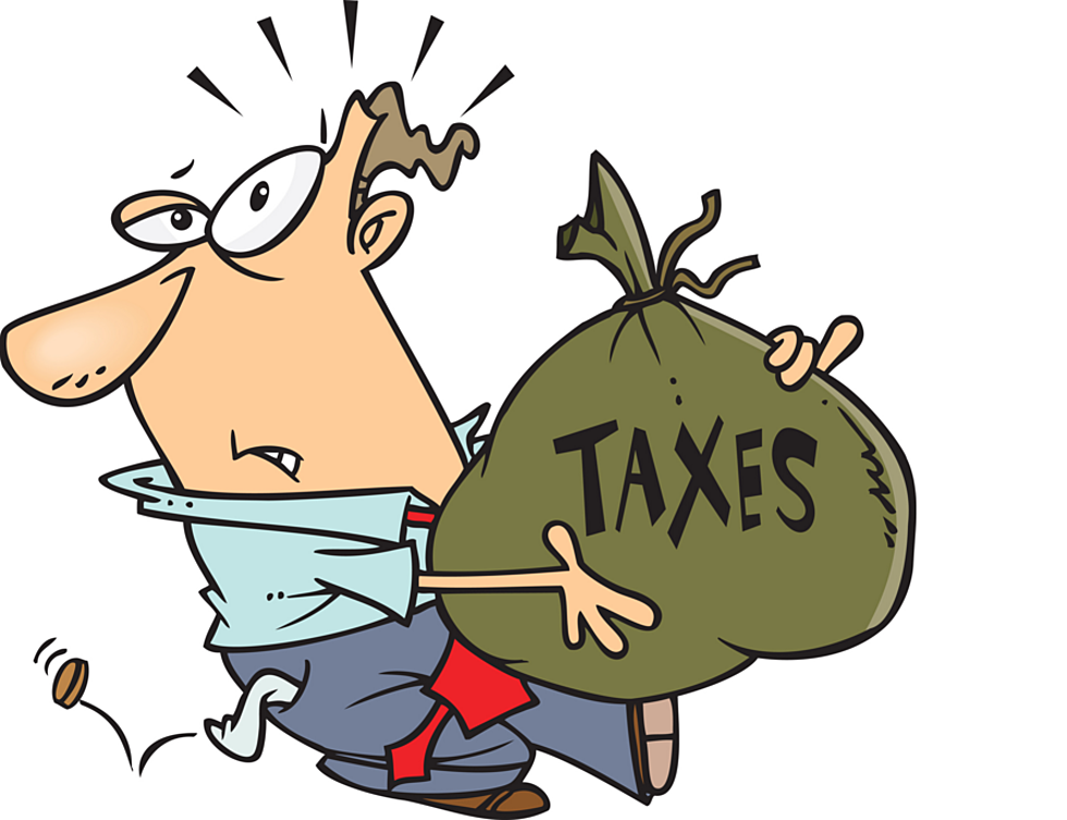 Tax Time Was \'Stay Away From Dad\' Time.