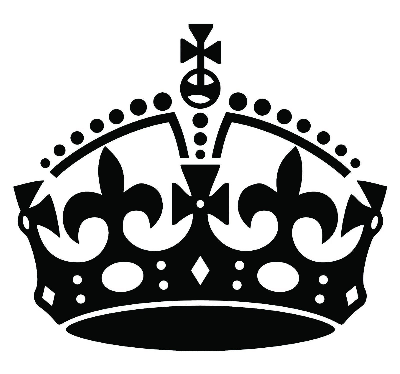 Images For > White Keep Calm And Carry On Crown Vector.