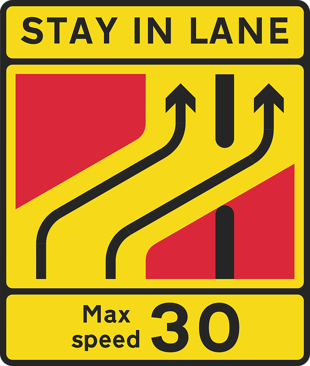 Free vector graphic: Drive, Car, Lane, Road, Information.