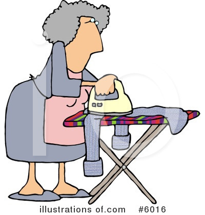 Housewife Clipart #6016.
