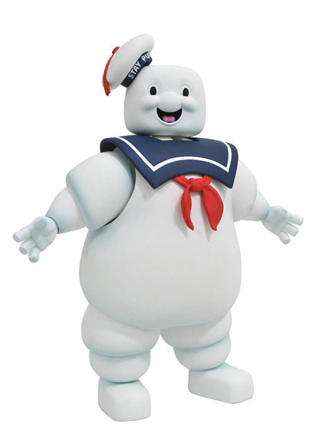 The Real Ghostbusters: Stay Puft Marshmallow Man Select Action Figure Toy.