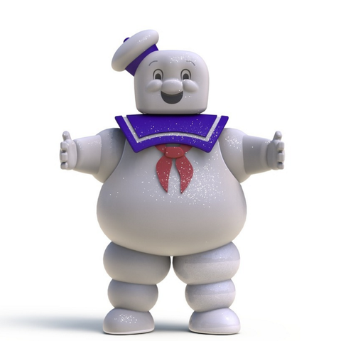 Download free 3D printing files Ghostbusters stay puft.