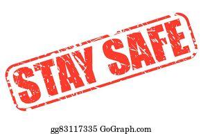 Stay Safe Clip Art.