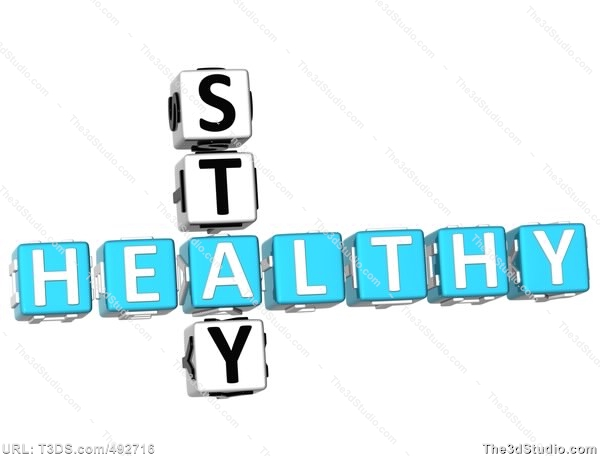 Stay Healthy Clipart.