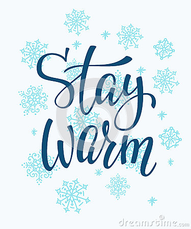 Stay Warm Stock Illustrations.