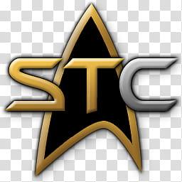 Star Trek Continuum Custom Icon, stc transparent background.