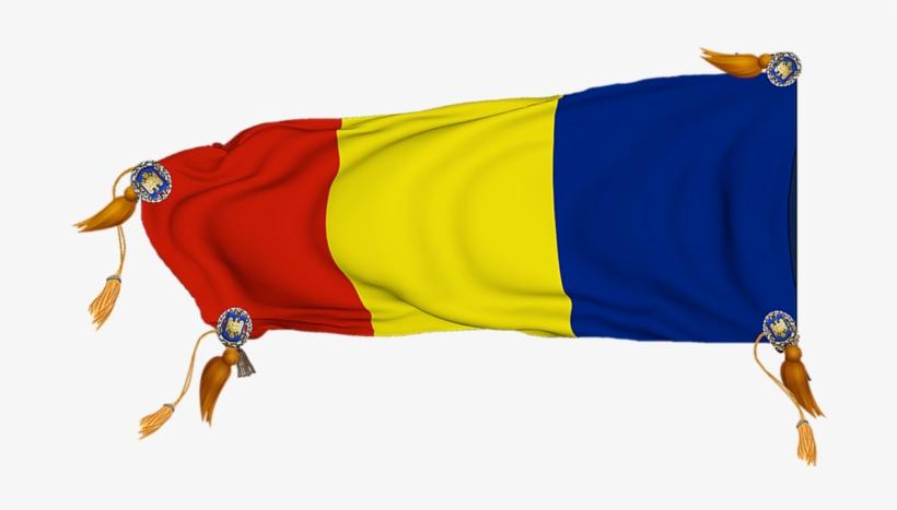 Steagul României 3d Png Transparent.