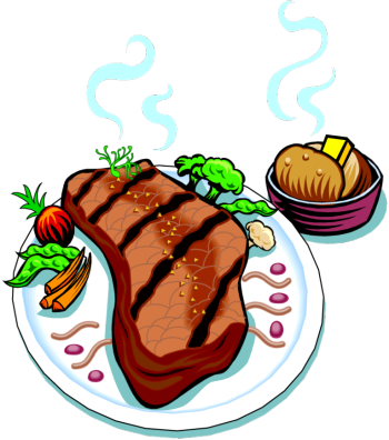 Steak Dinner Clipart (94+ images in Collection) Page 1.