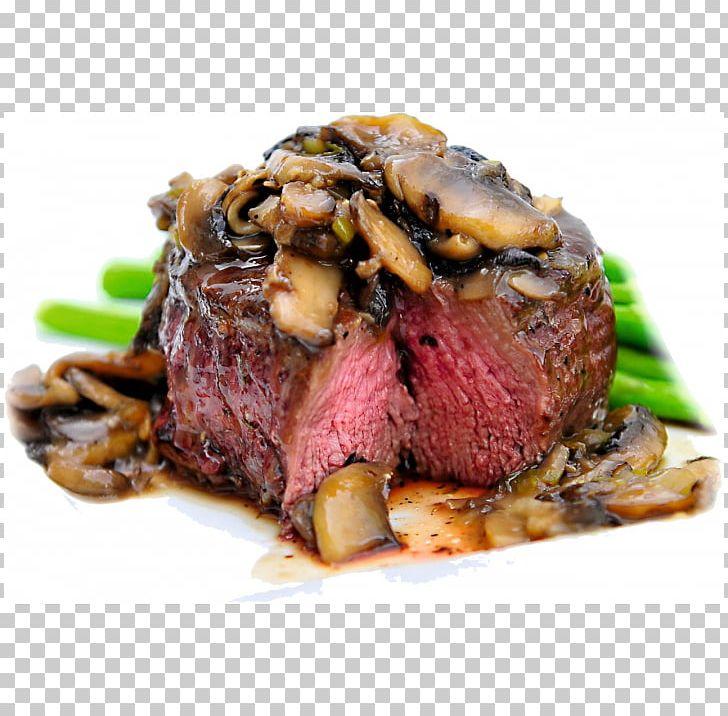 Filet Mignon Steak Recipe Beef Tenderloin Dinner PNG.