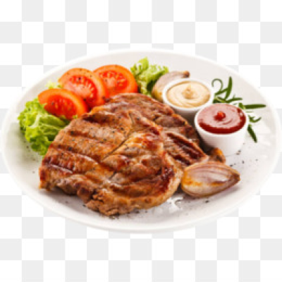 Steak dinner png AbeonCliparts.