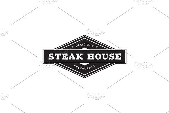 Steak House Logo.