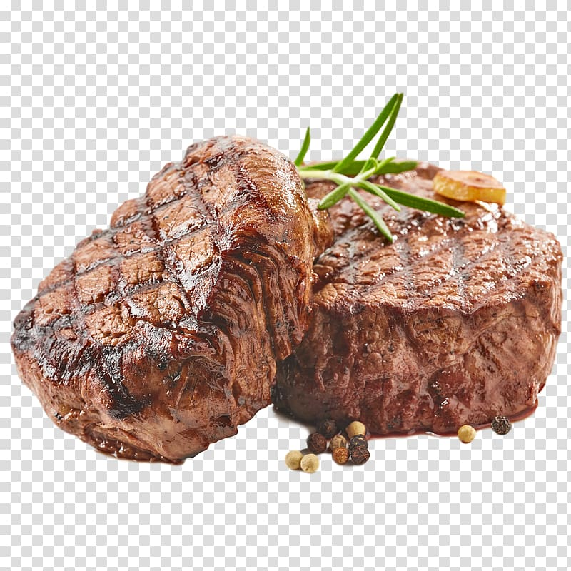 Angus cattle Beef tenderloin Meat Barbecue, meat transparent.