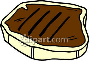 Cooked Steak Clipart.