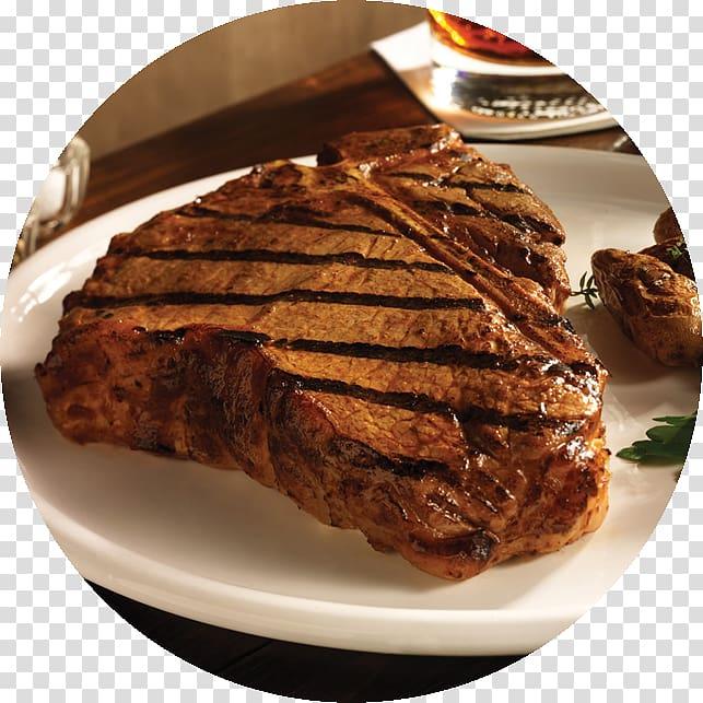 Rib eye steak Chophouse restaurant Sirloin steak Papa Fred\'s.