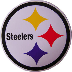 Details about New 5 NFL Pittsburgh Steelers logo Football stickers/decals.  3.75 inch..
