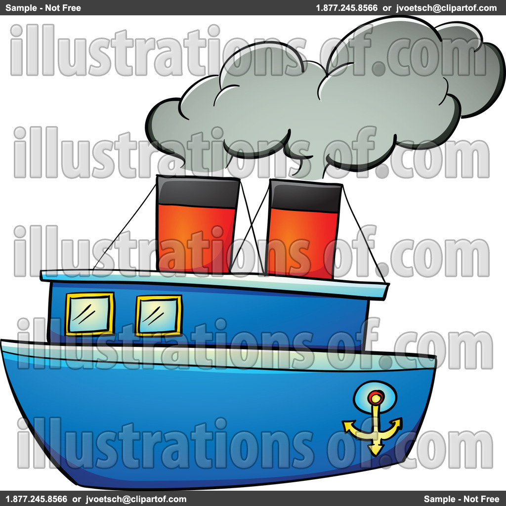 Steamboat Clipart Free.