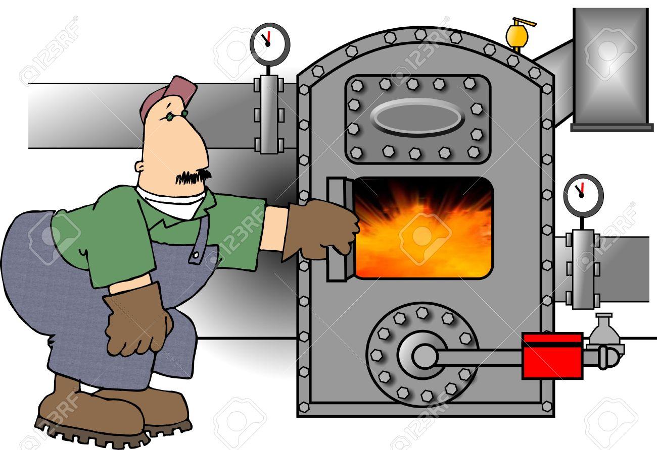 Boiler Cartoon.