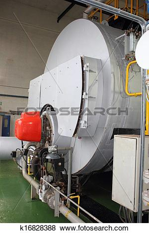Pictures of Industrial 35000 lbs steam boiler k16828388.