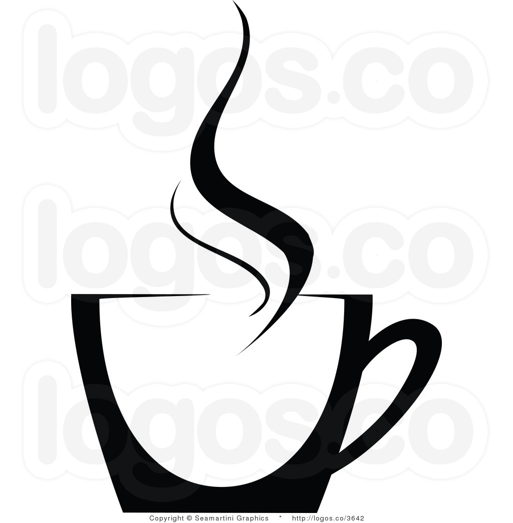 Coffee steam clipart.