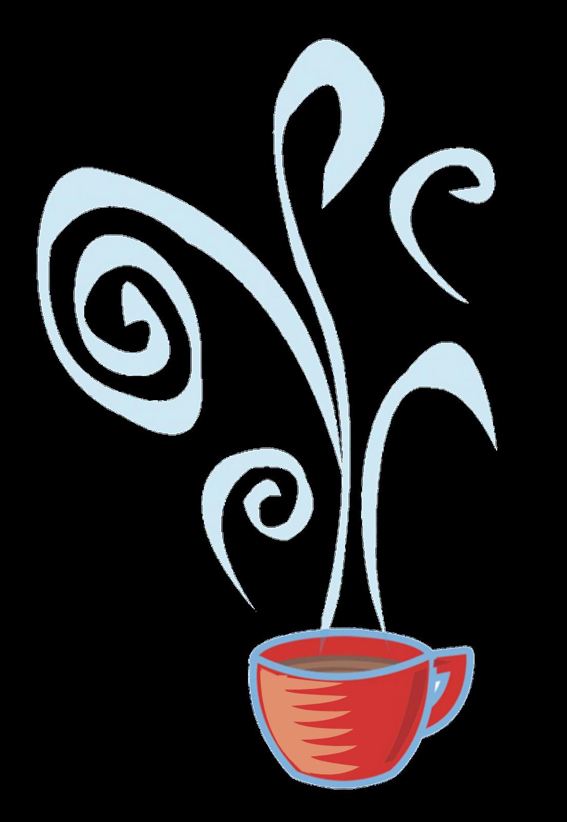Coffee Steam Clip Art.