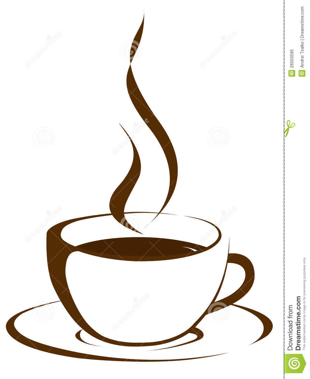 Coffee Steam Clipart.