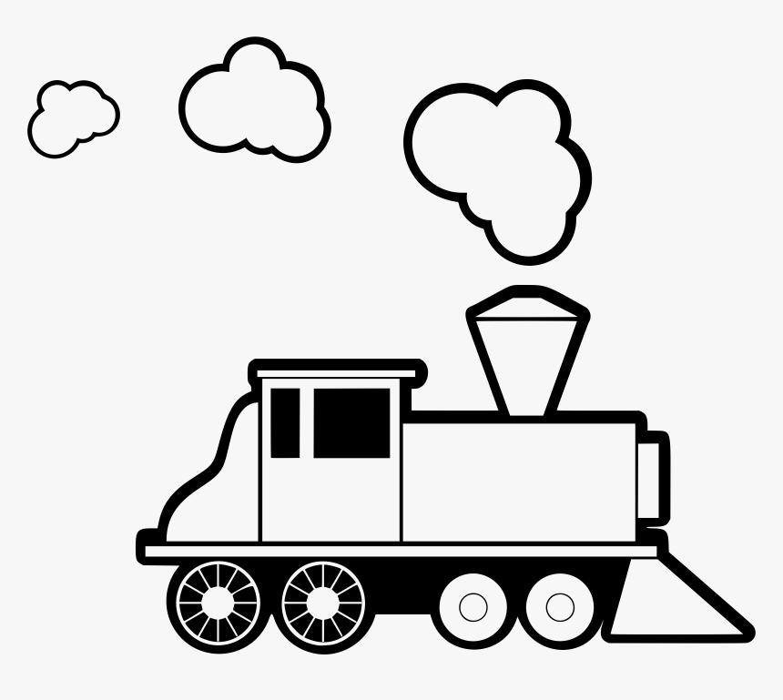 Steam Train 2 Clip Arts.