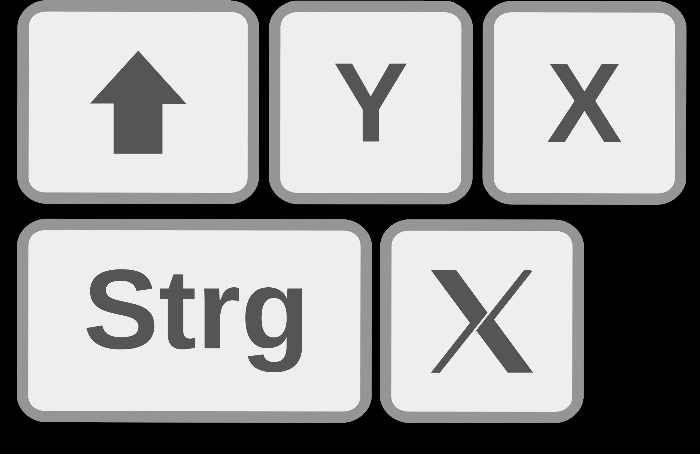 Shortcuts Clipart.