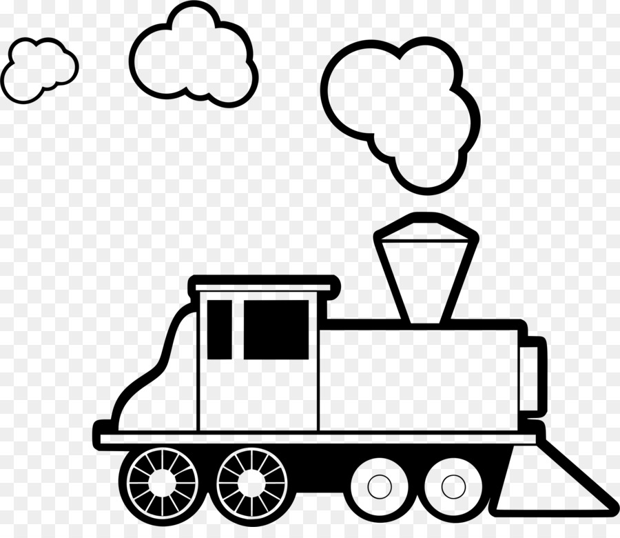 Train Cartoon clipart.