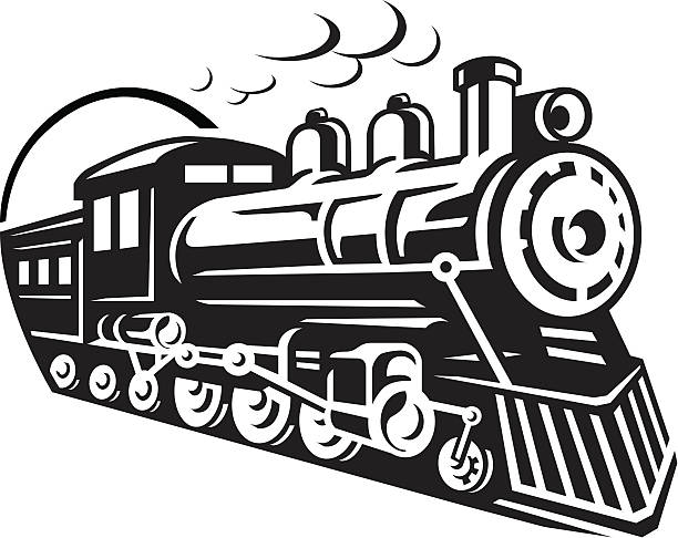 Steam Engine Clip Art, Vector Images & Illustrations.