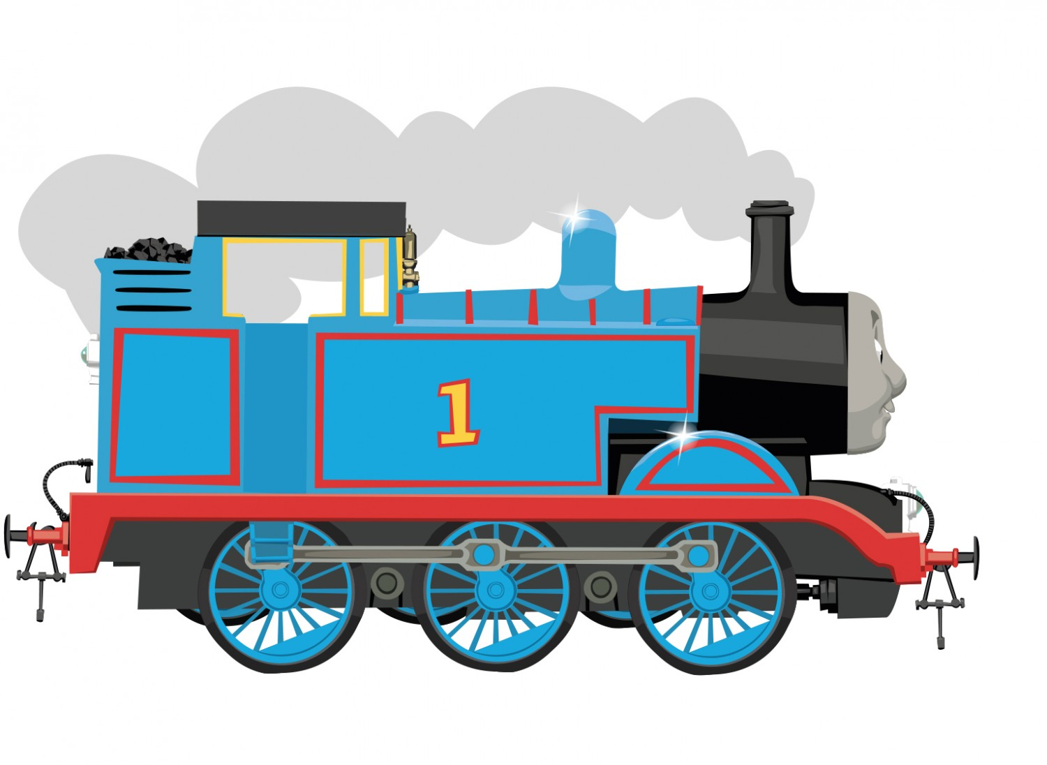 Engine clipart side view, Engine side view Transparent FREE.