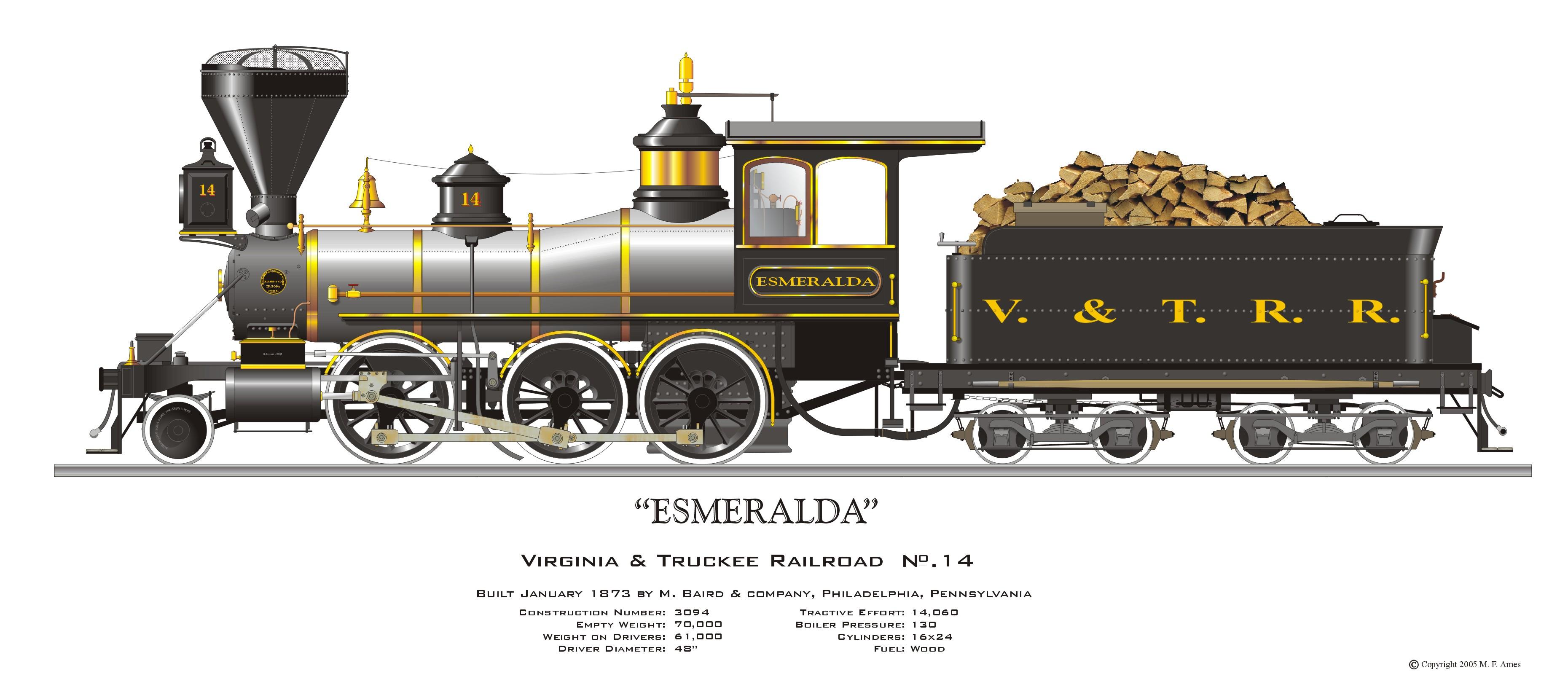 Steam Locomotive Drawing at GetDrawings.com.