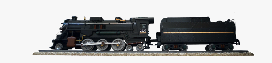 Vector Trains Side View.