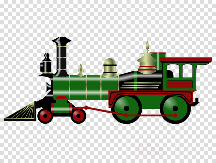 locomotive transport vehicle steam engine train clipart.