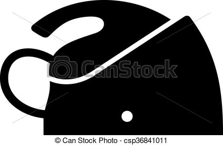 Vector Clip Art of Steam generator iron, shade picture csp36841011.