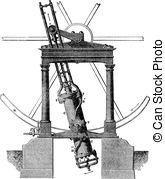 EPS Vectors of High pressure steam generator, vintage engraving.