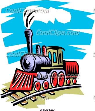 Showing post & media for Cartoon steam train clip art.