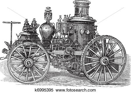 Clipart of Amoskeag Steam.