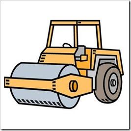 Steamroller Clipart.