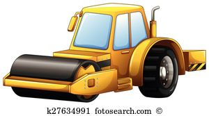 Steam roller Clipart EPS Images. 189 steam roller clip art vector.