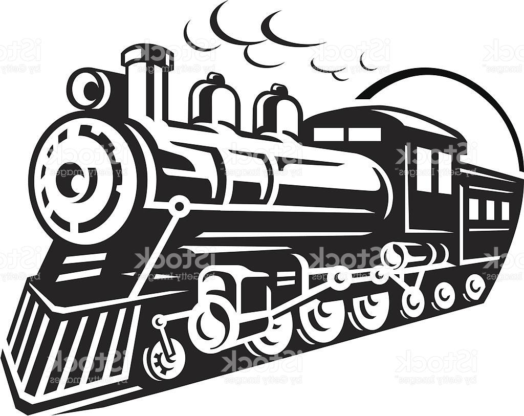 Steam Train Clipart.