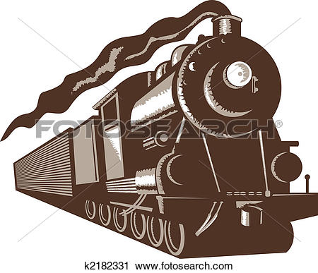 Steam train Clipart and Stock Illustrations. 652 steam train.