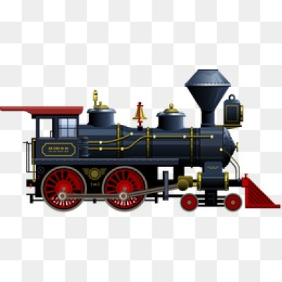 Steam Train PNG Images.